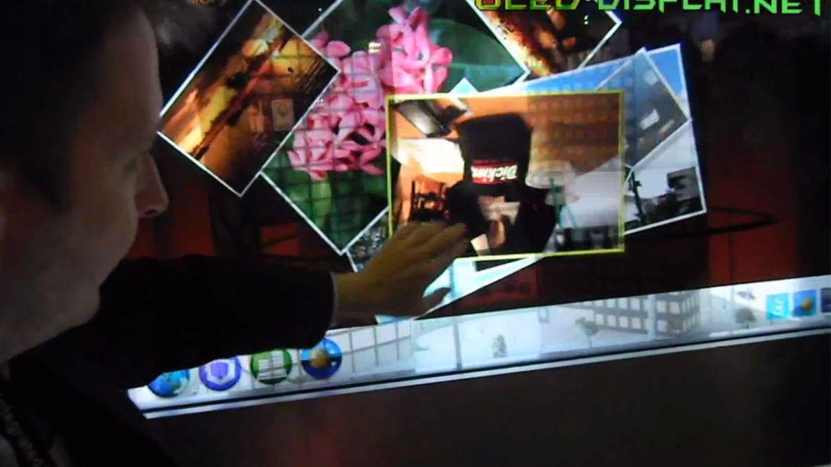 Gjennomsiktig LCD-TV