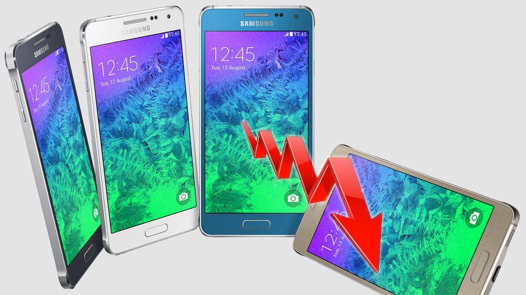 Samsung opplever kraftig nedgang i overskuddet