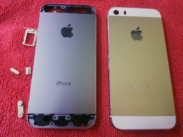 Ryktene om en gullfarget iPhone 5S virker stadig mer troverdige. Foto: SonnyDickson.com