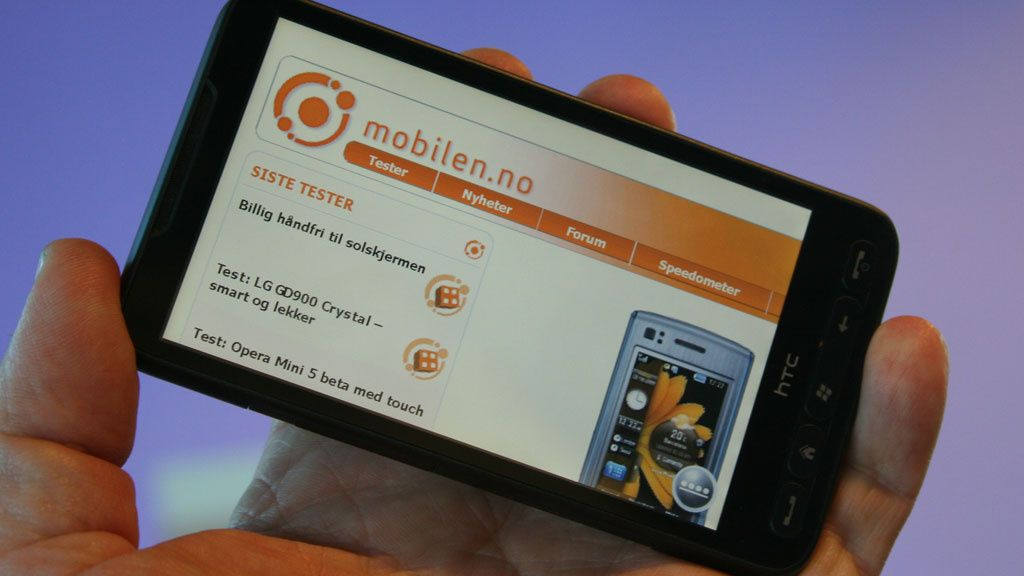 Test: HTC Touch HD 2 (Leo) - Verdens råeste mobil
