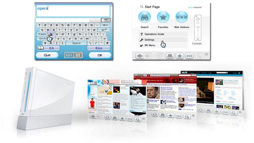 Operanettleseren gratis på Wii