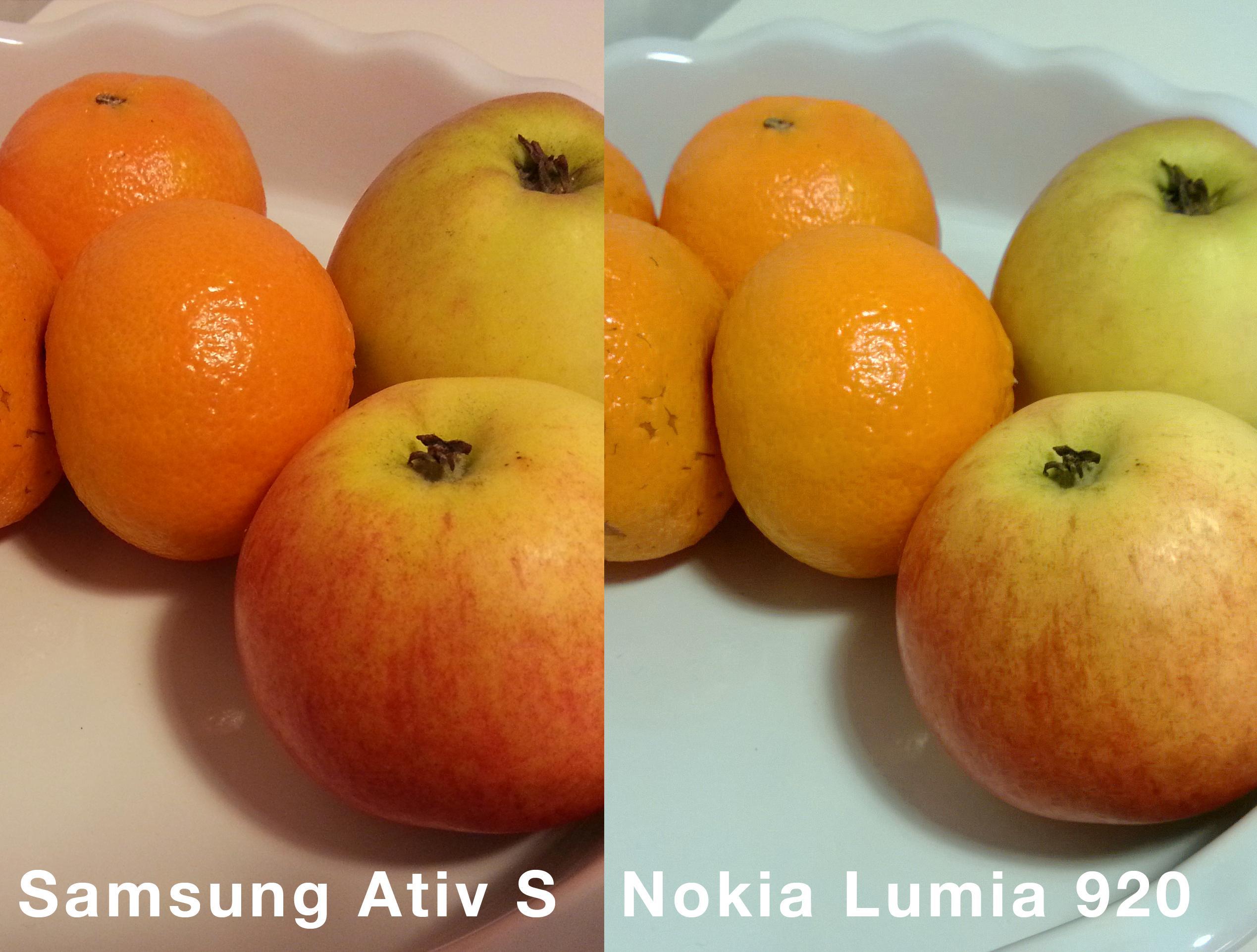 Sammenligning Lumia920 og Ativ S.