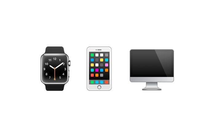 Nye Apple-ikoner. (Foto: Unicode)