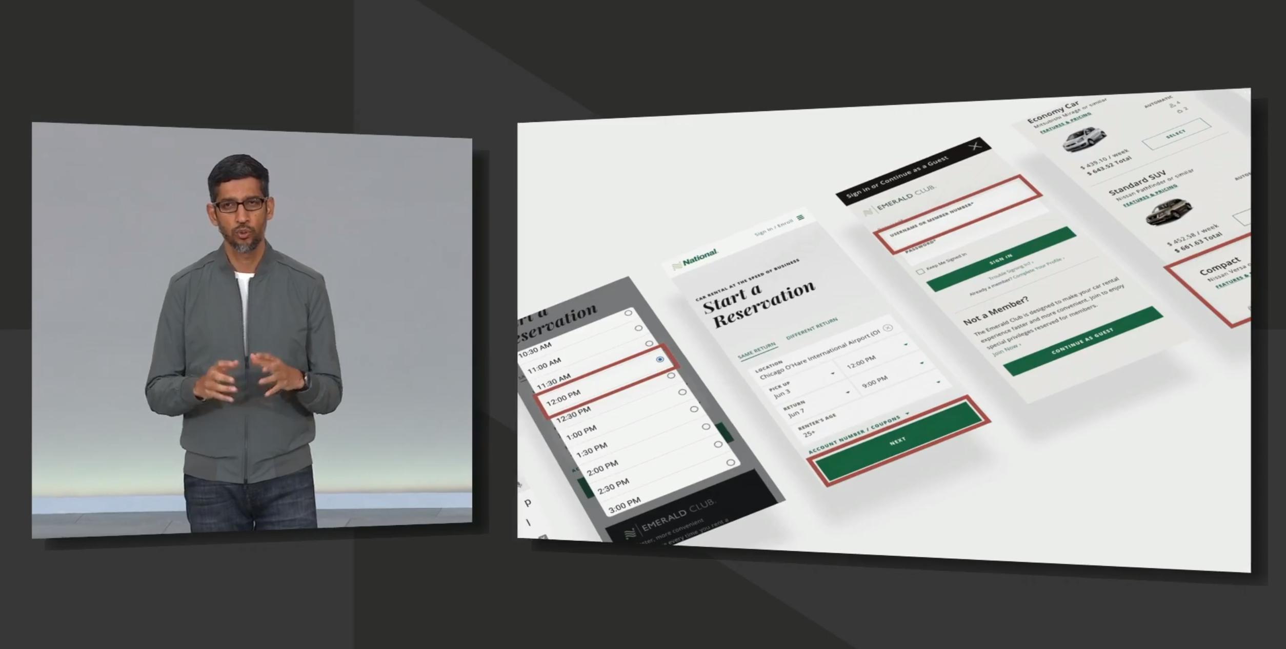 Assistant kan nå fylle ut nettskjema automatisk, for å bestille for eksempel leiebil til en planlagt tur - som den vet alt om fra før, siden du har den i kalenderen din.