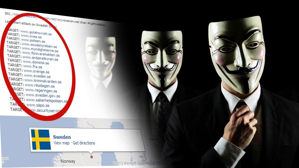 Anonymous truer Sverige
