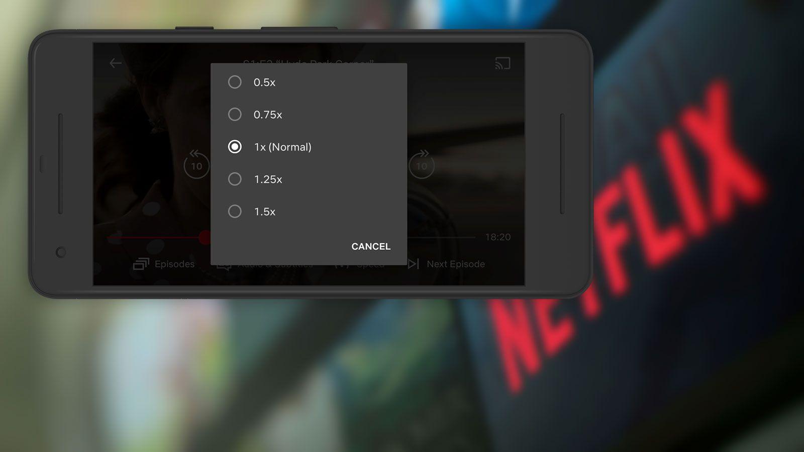Nå kan du justere avspillingshastigheten på Netflix