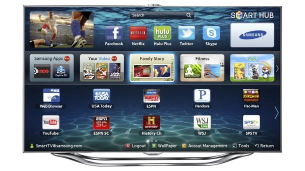 Samsungs nye smart-TV-er har innebygde mikrofoner og ansiktsgjenkjennende kamera. Dette skal gjøre det lettere å styre TV-en.