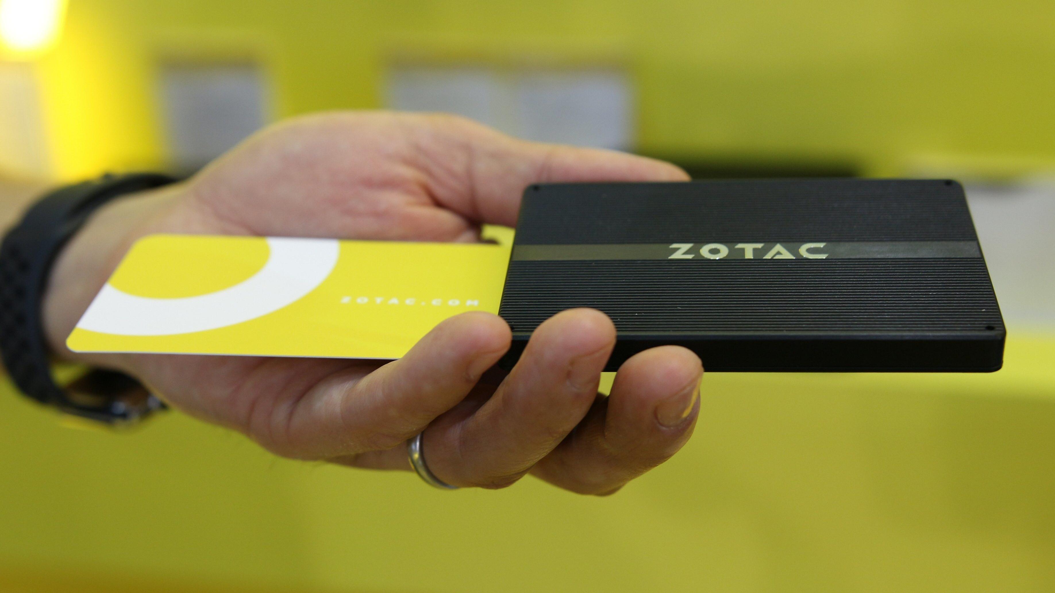 Zotacs nye småtass er på størrelse med et kredittkort