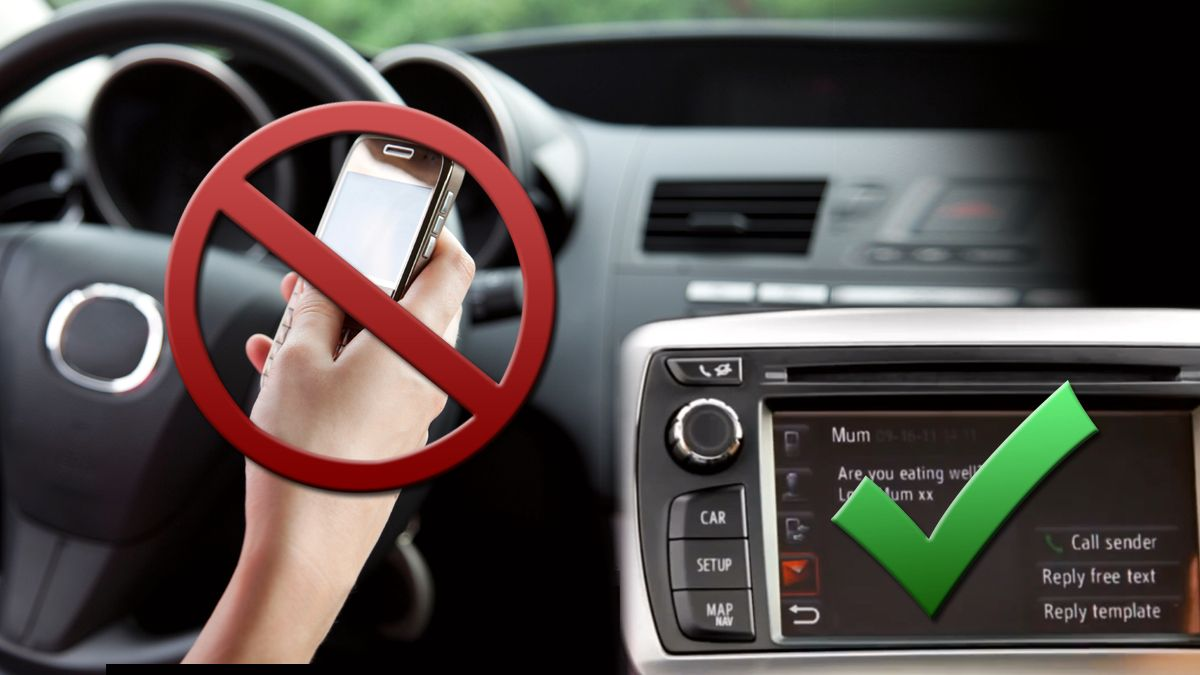 Greit å bruke Twitter mens du kjører