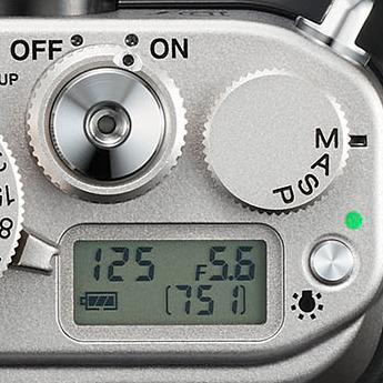Nikon Dfs modushjul, utløser og infoskjerm.  (Foto: Nikon)