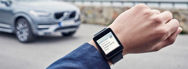 Kommer til Android Wear i tillegg til Apple Watch i slutten av juni. Foto: Volvo
