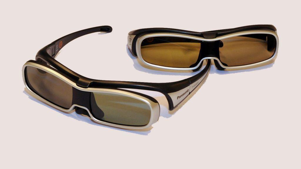 De gamle 3D-brillene.