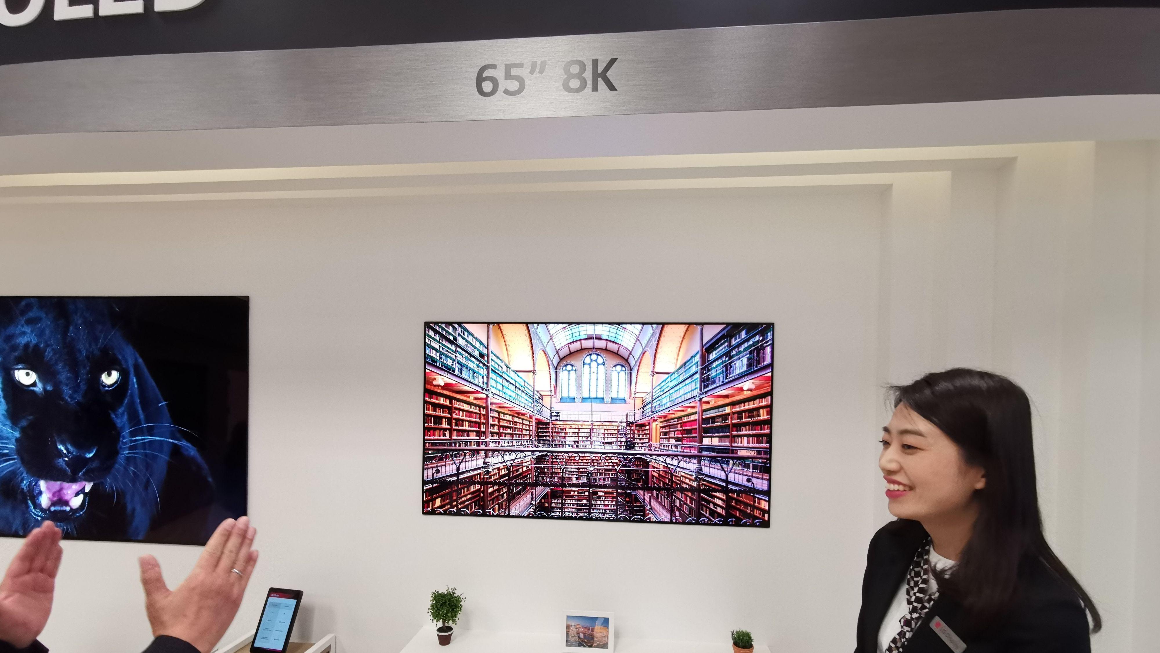 LG Display kommer senere i år med et 8K-panel i 65 tommer.