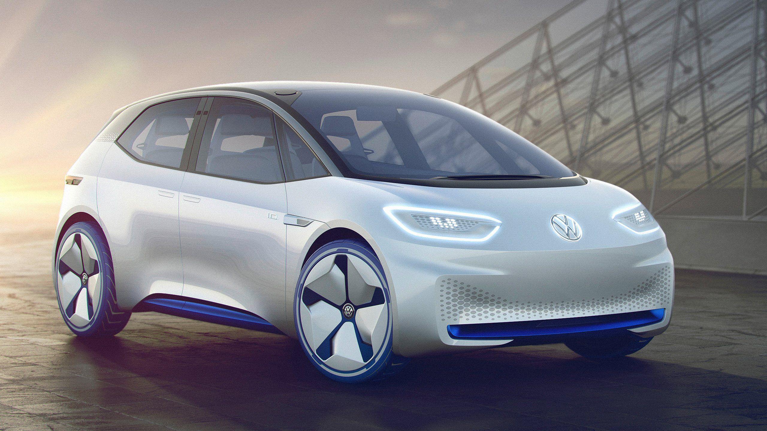 Slik så konseptversjonen av VW Neo ut på selskapets egne skisser.