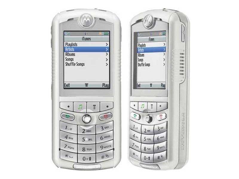 Motorola samarbeidet med Apple om musikkmobilen Rokr. Men sterke begrensninger fra Apple gjorde den ubrukelig som iPod-mobil.