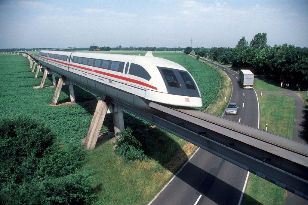 Det tyske svevetogsystemet Transrapid. Foto: ThyssenKrupp