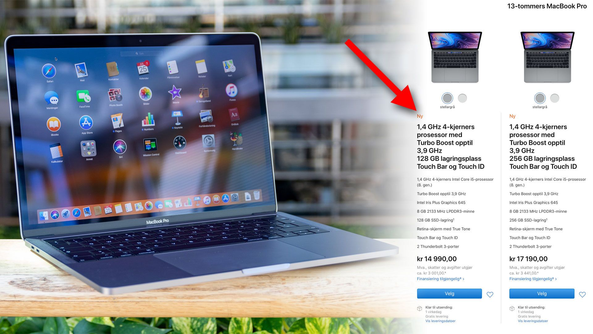 Nå har de aller billigste MacBook-ene blitt bedre