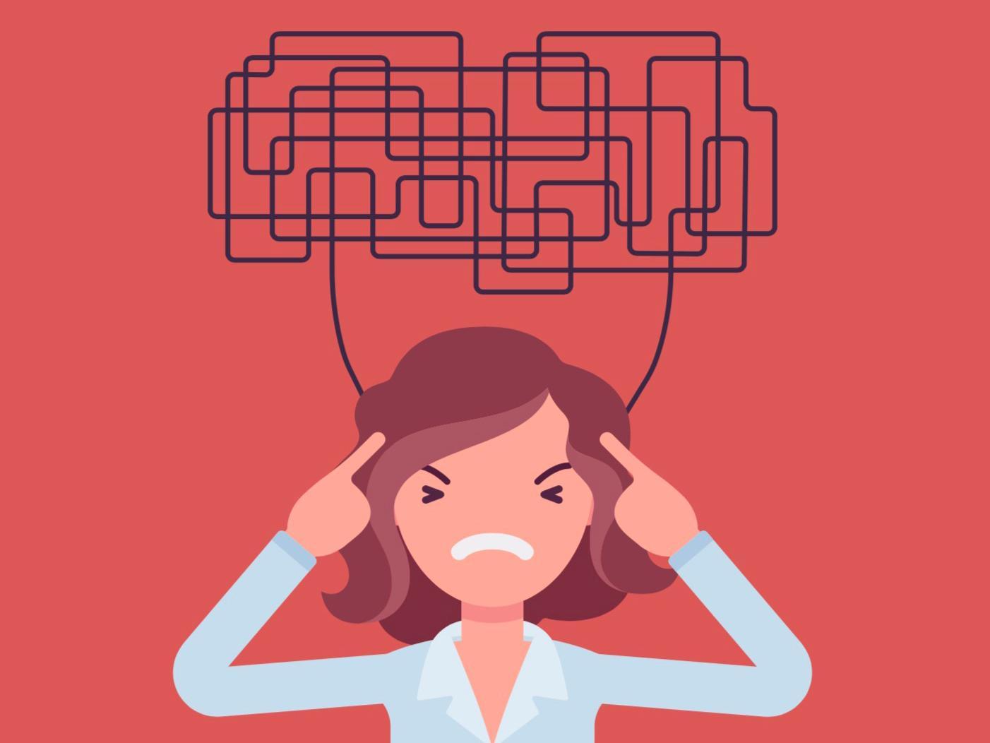 STRESSAD HJÄRNA. Om hippocampus i hjärnan, där vår minneslagringsstation sitter, översköljs av kortisol i för stora mängder så får vi sämre minne och kan inte hänga med som vanligt.