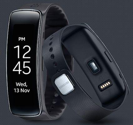 Samsung Gear Fit.Foto: samsung.com