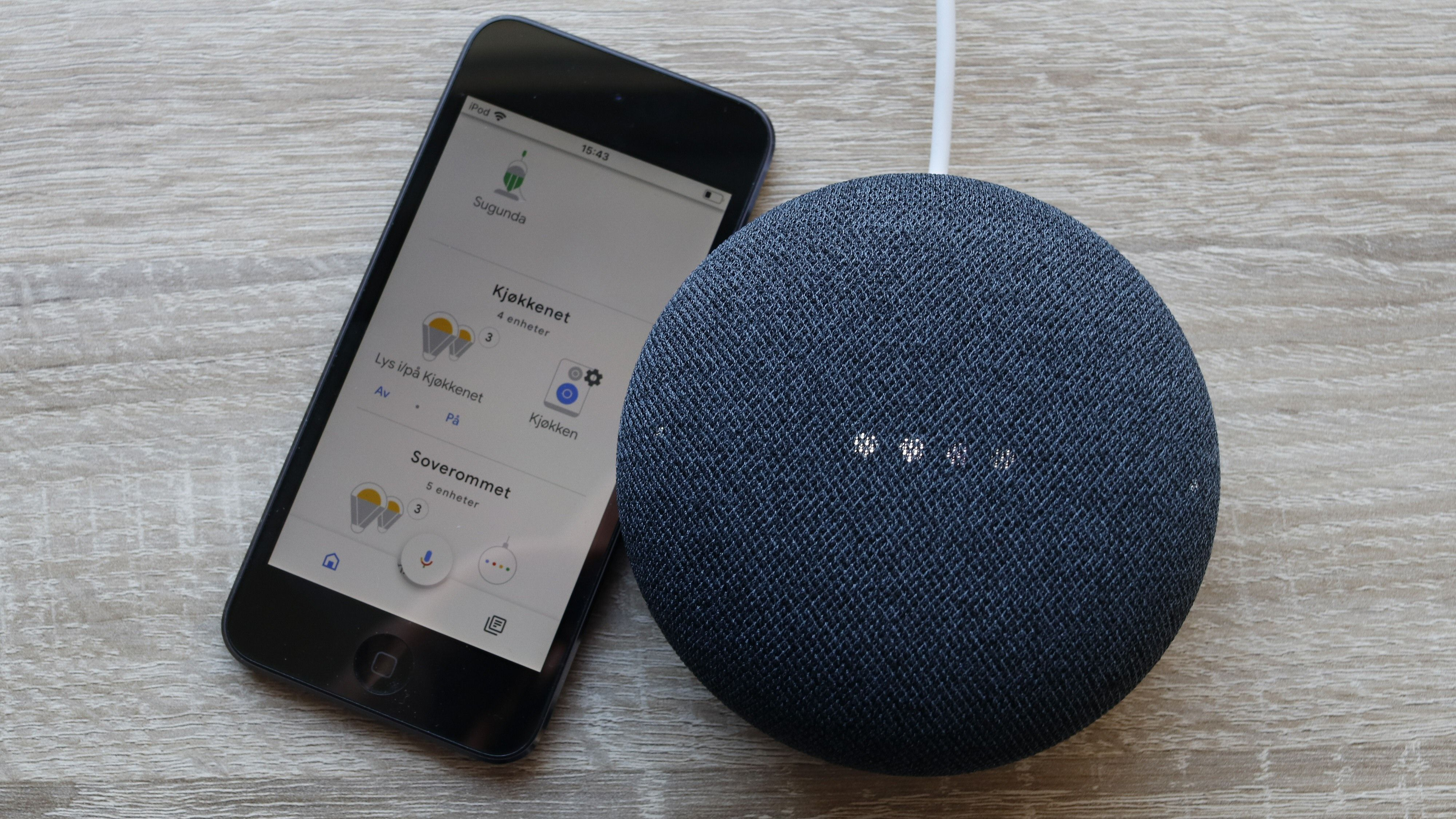 Med en slik smarthøyttaler og tilhørende app kan blant annet styre belysningen med stemmen – så lenge du har «smarte» lys, altså.