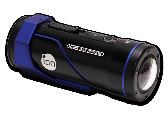 iONs Air Pro 3 er sylinderformet og ligner ganske mye på en lommelykt.Foto: ioncamera.com