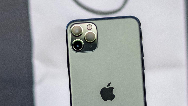 iPhone 11 Pro har tre kamera.