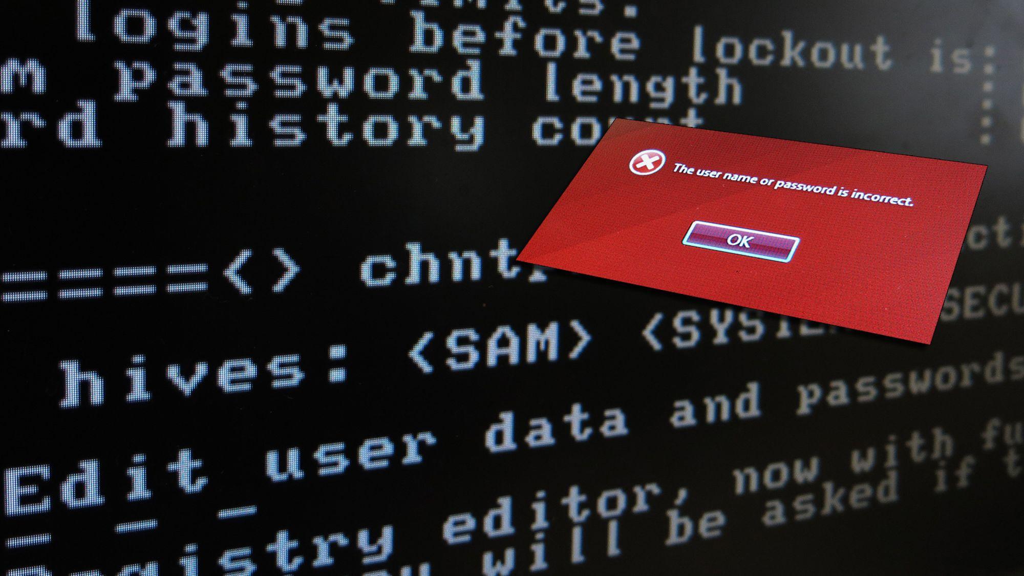 Det er ikke krise om du har glemt Windows-passordet