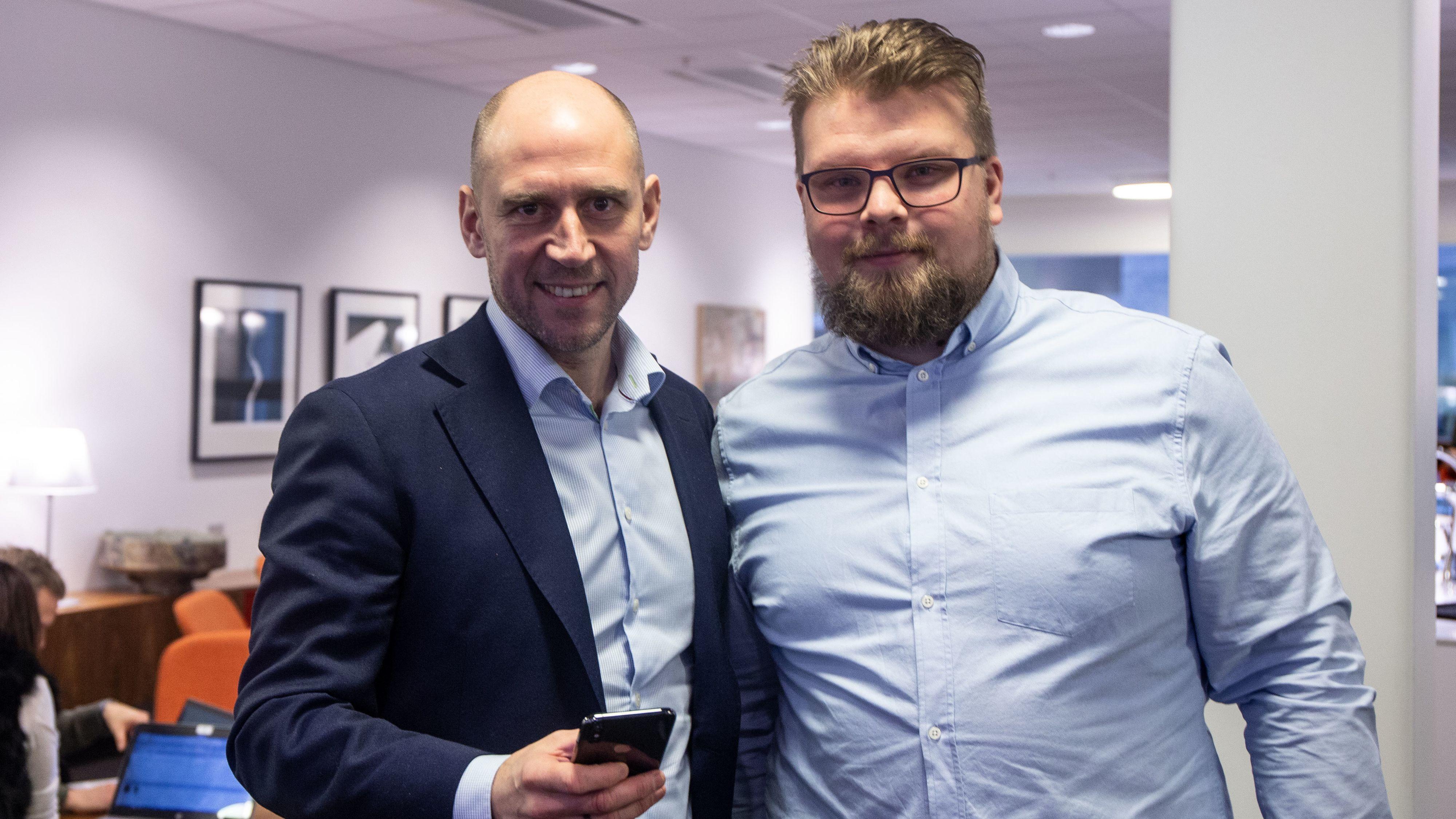 Øyvind Westby Brekke og Oscar Nordstrøm.