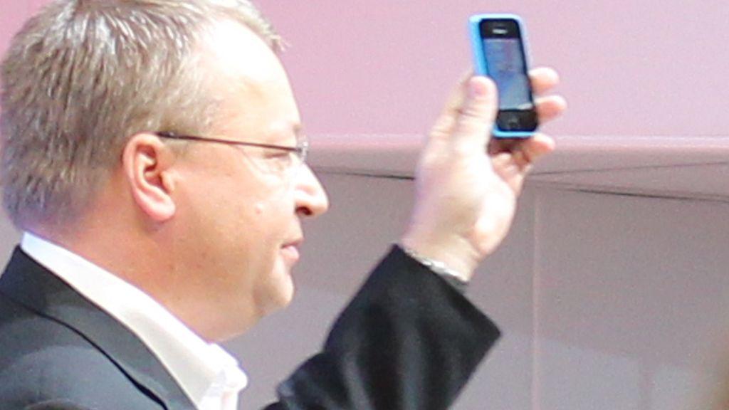 Stephen Elop er ikke lenger toppsjef i Nokia, men fikk likevel presentere selskapets nyheter på MWC. Foto: Espen Irwing Swang, Amobil.no