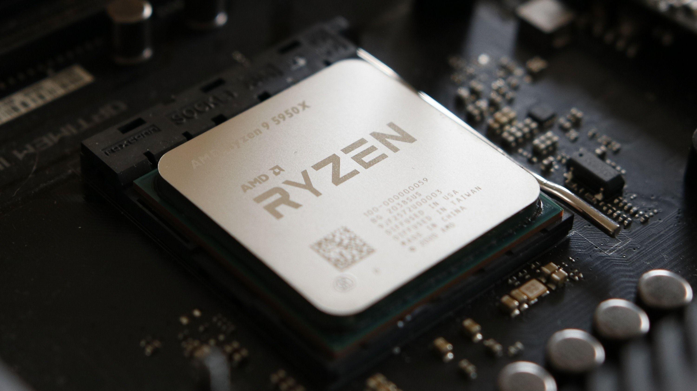 16 kjerner: AMD Ryzen 9 5950X.