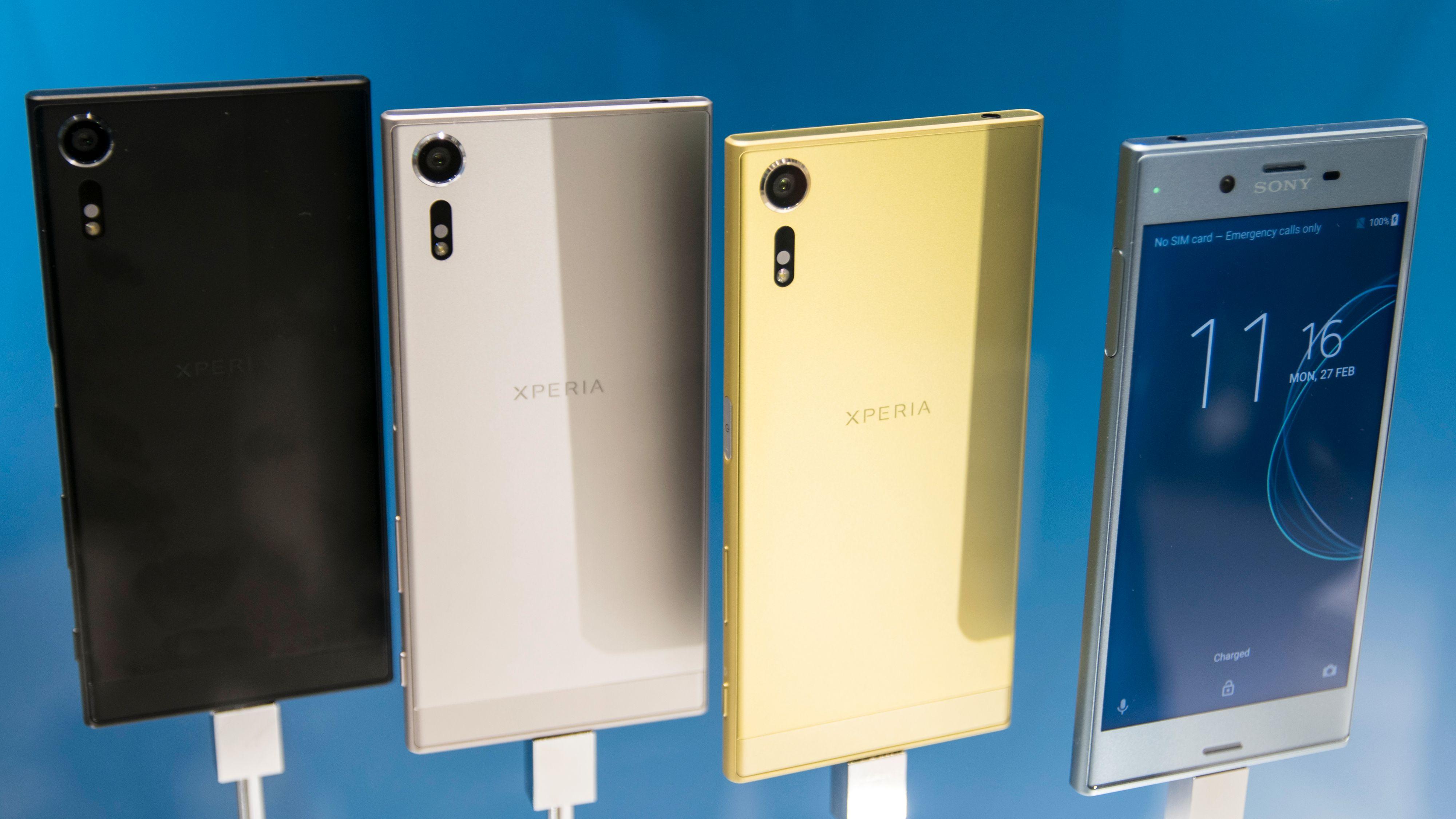 Sony Xperia XZS og Xperia XZ Premium