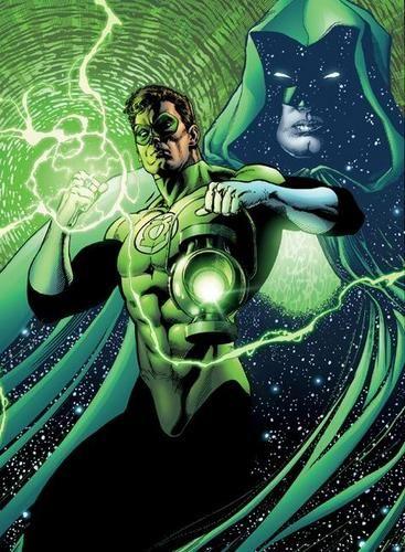 Green Lantern får snart egen spillefilm. Illustrasjon: DC Comics