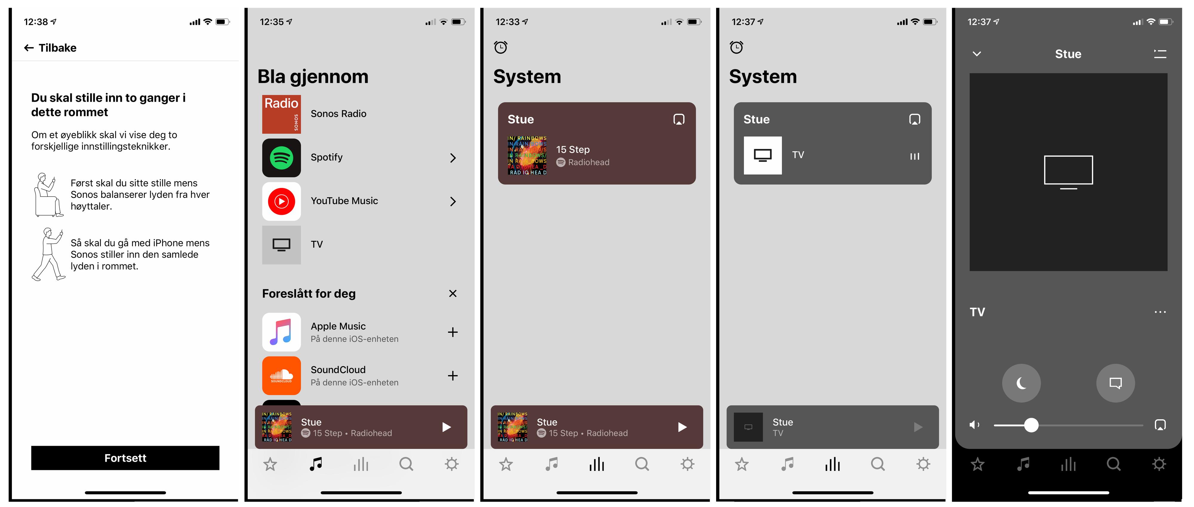 Sonos Arc vil kun fungere med Sonos' nye app, S2, som har fått et skikkelig ansiktsløft fra den forrige appen. Dette gjør at den ikke vil fungere med de aller eldste Sonos-produktene lenger.