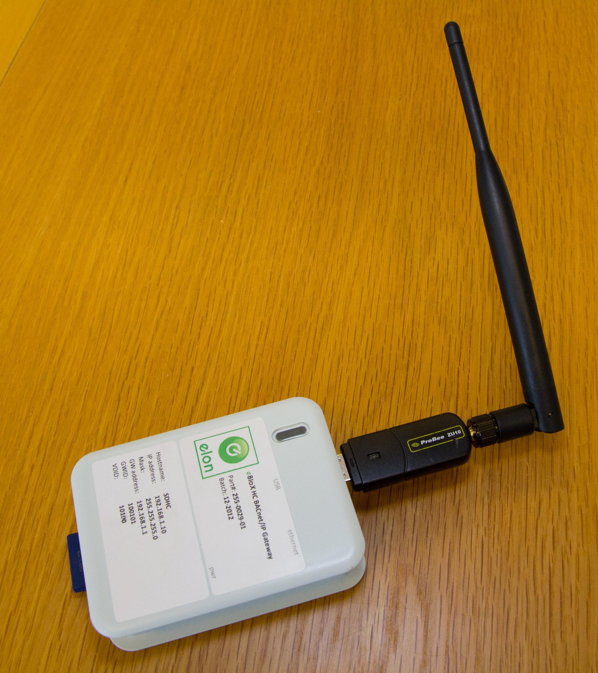 Forrige variant, med en vesentlig større antenne. Foto: Rolf B. Wegner, Hardware.no
