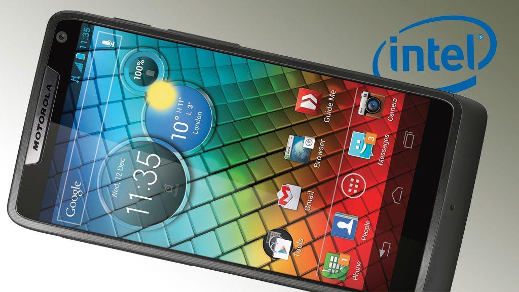 Motorola lanserte Razr i med Intel Inside