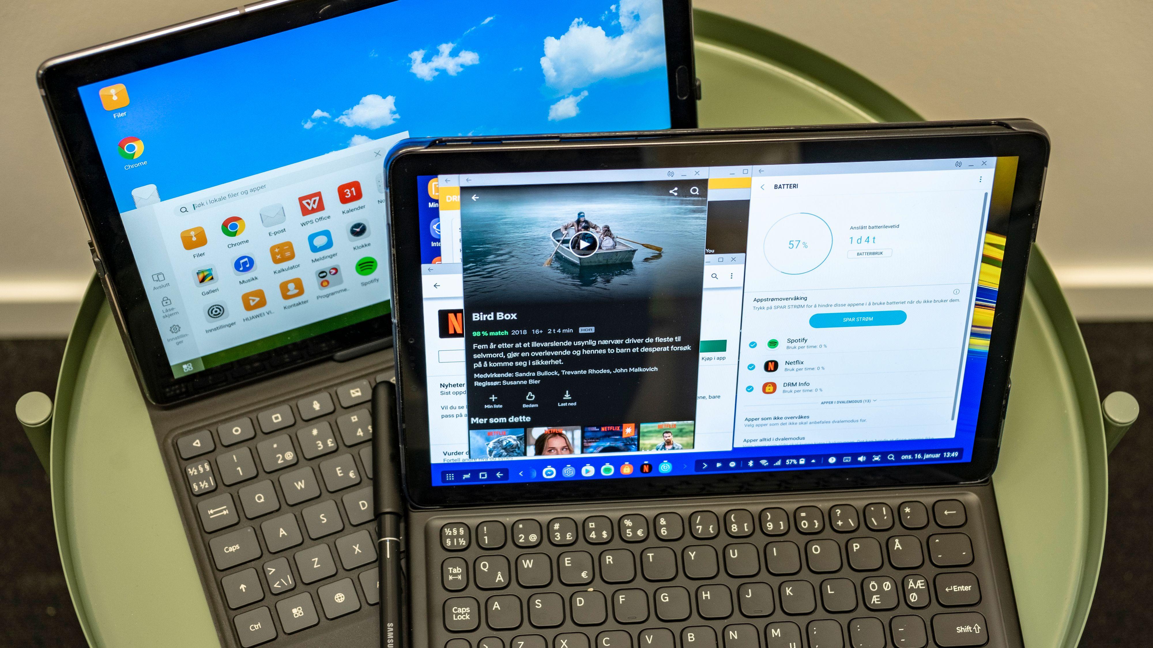 Galaxy Tab S vs Huawei MediaPad M5