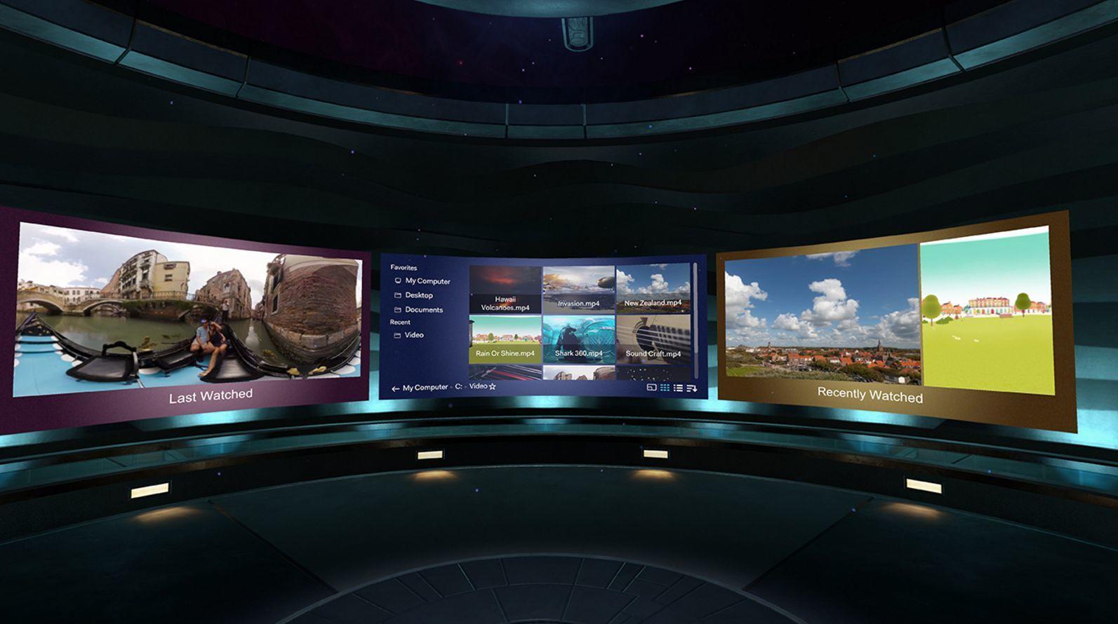 Glem projektor eller gigantisk TV i stua – HTC vil gi deg kinofølelse med en ny VR-app