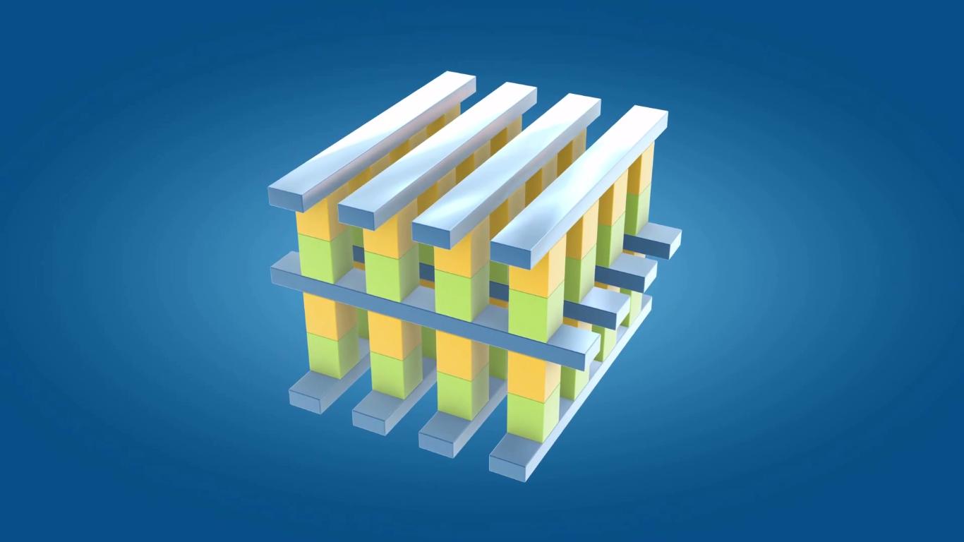 Illustrasjonsbilde av den nye minnearkitekturen. Foto: Intel/YouTube