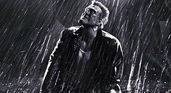 """Mickey Rourke, her som slåsskjempe i """"Sin City"""", har overtatt hovedrollen i """"The Wrestler""""."""