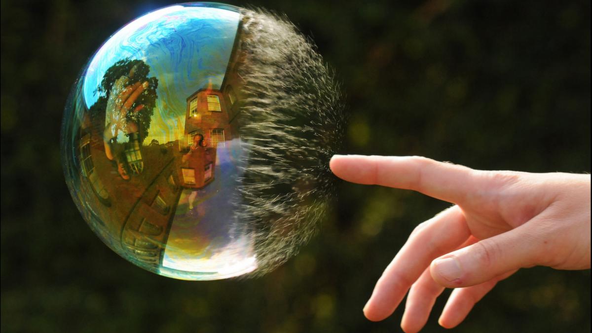 Spesialiserer seg på boble-fotografering