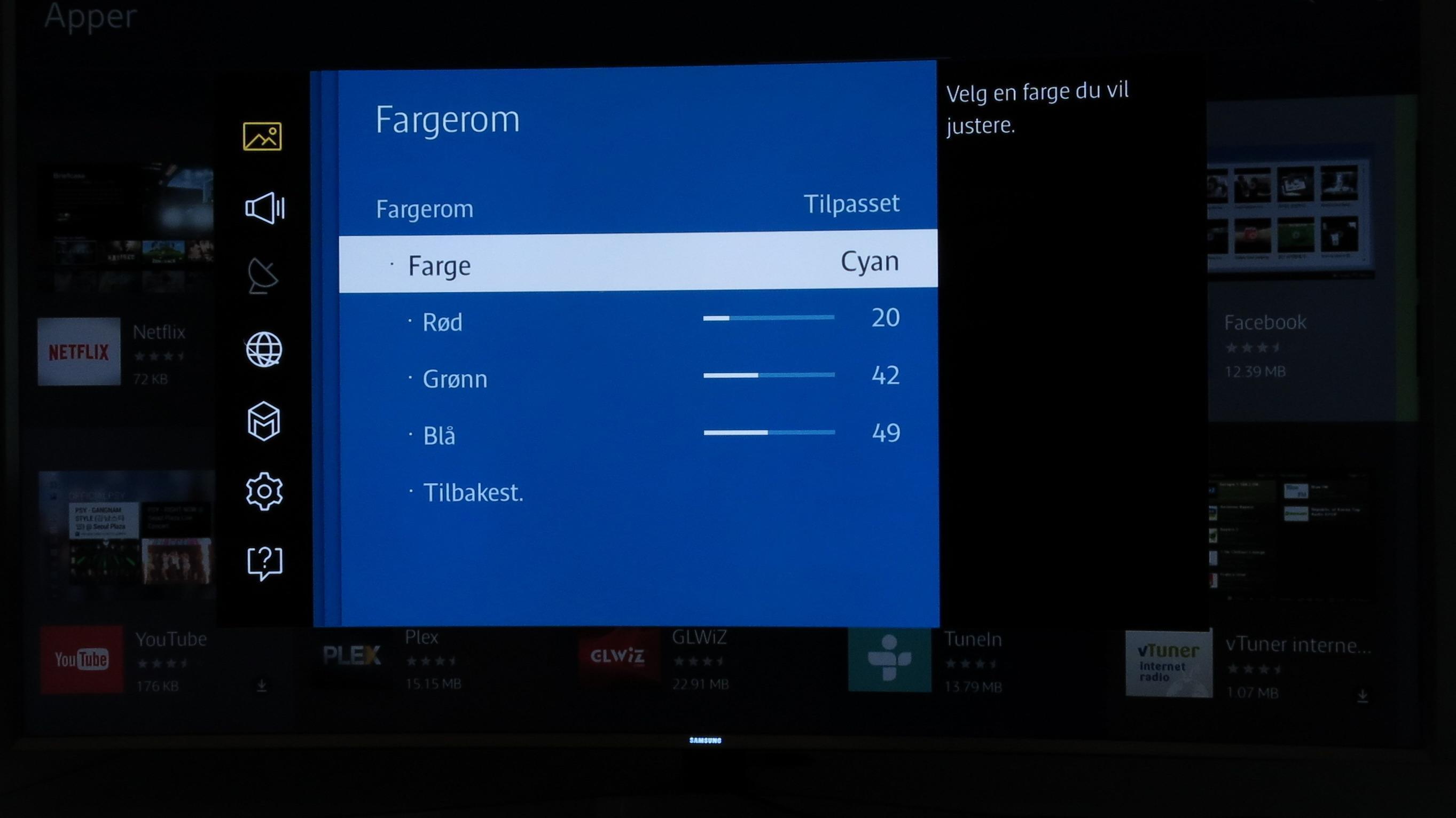 Farger: Cyan