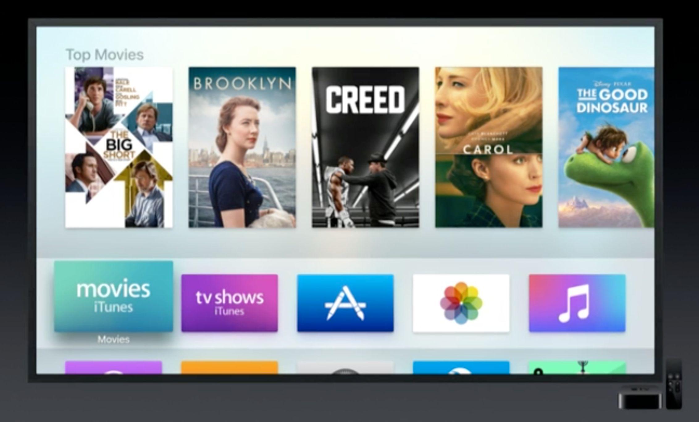 Apple TV får støtte for Siri-diktering, mapper og mye annet.