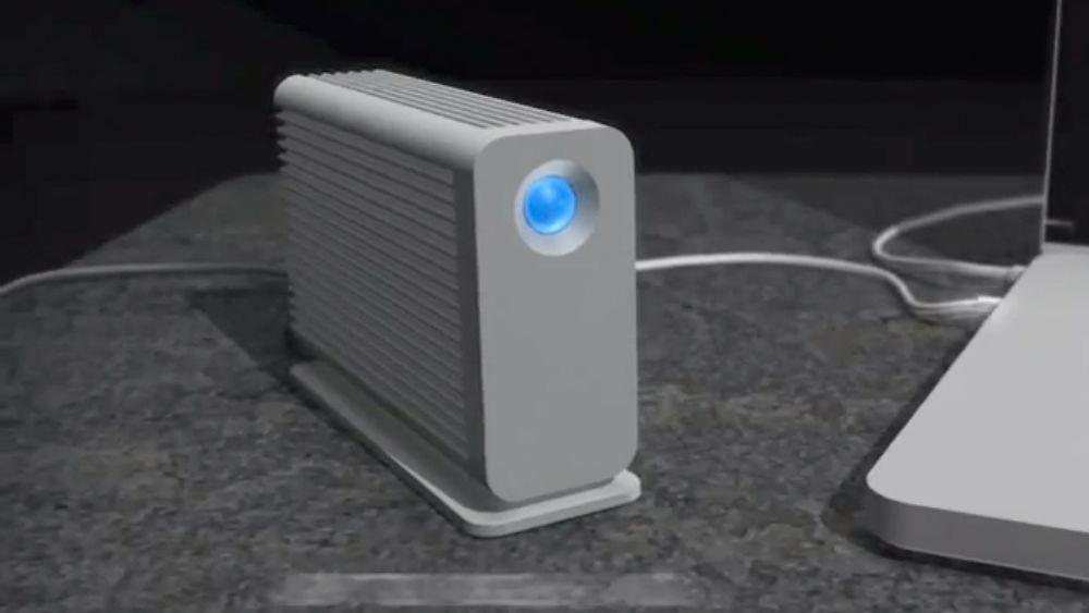 Nå blir Thunderbolt-disker billigere