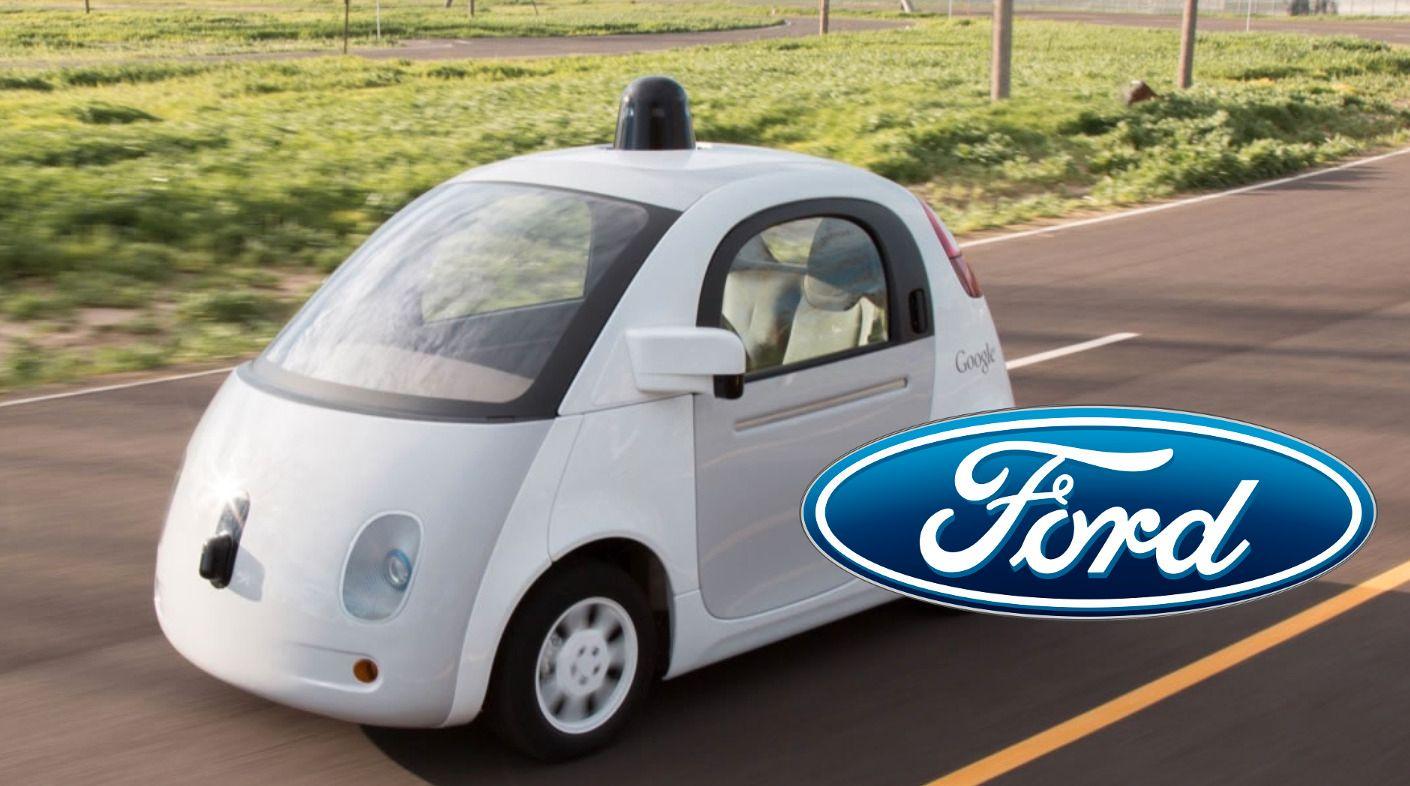 Google skal trolig samarbeide med bilgiganten Ford om selvkjørende biler
