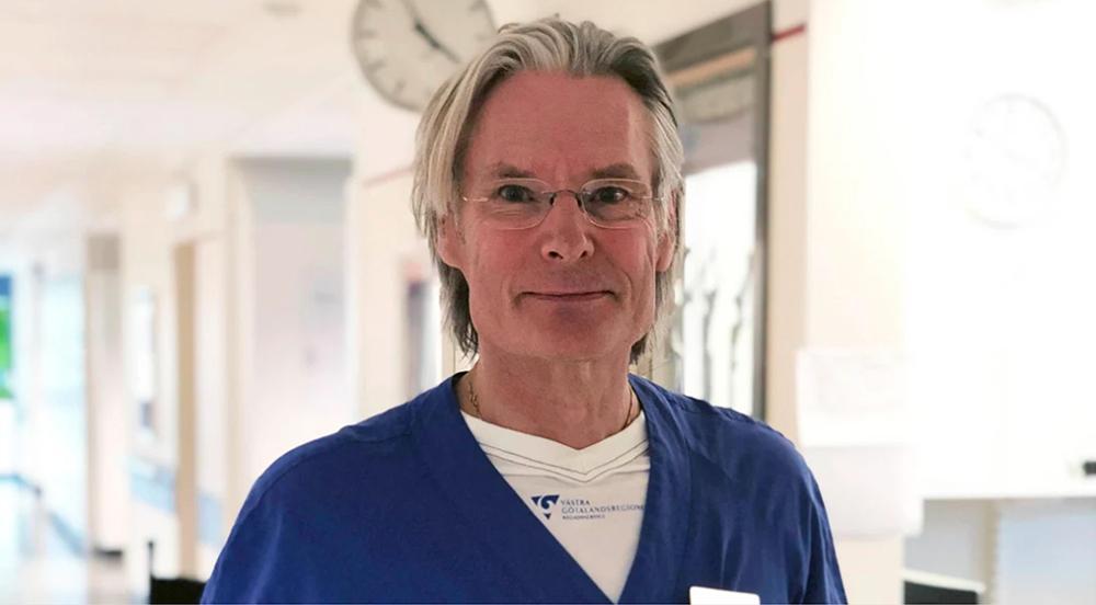 Per-Göran Larsson är professor och överläkare, han har mött flera kvinnor med bakteriell vaginos.