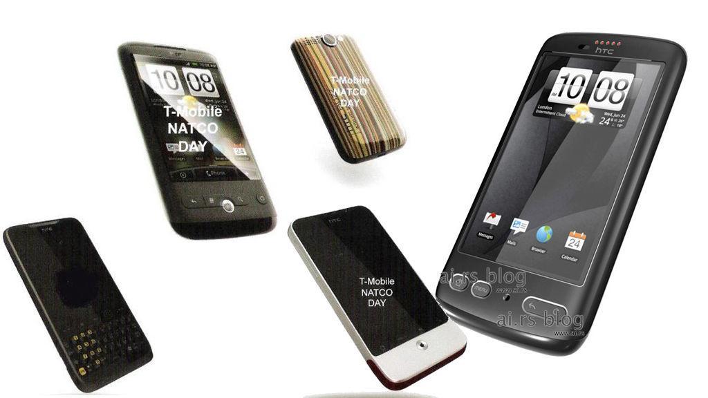 Her er 2010-mobilene til HTC