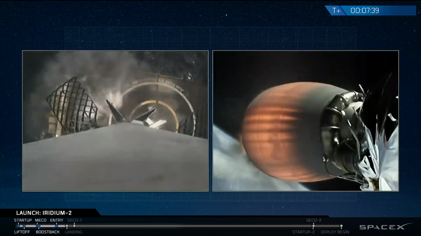 SpaceX landet hele to rakettrinn på bare 48 timer