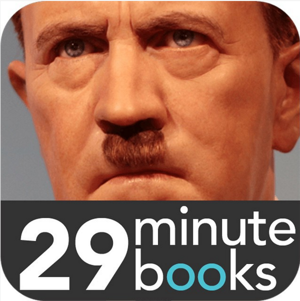 Hitler er blant temaene du kan lære mer om med appen.