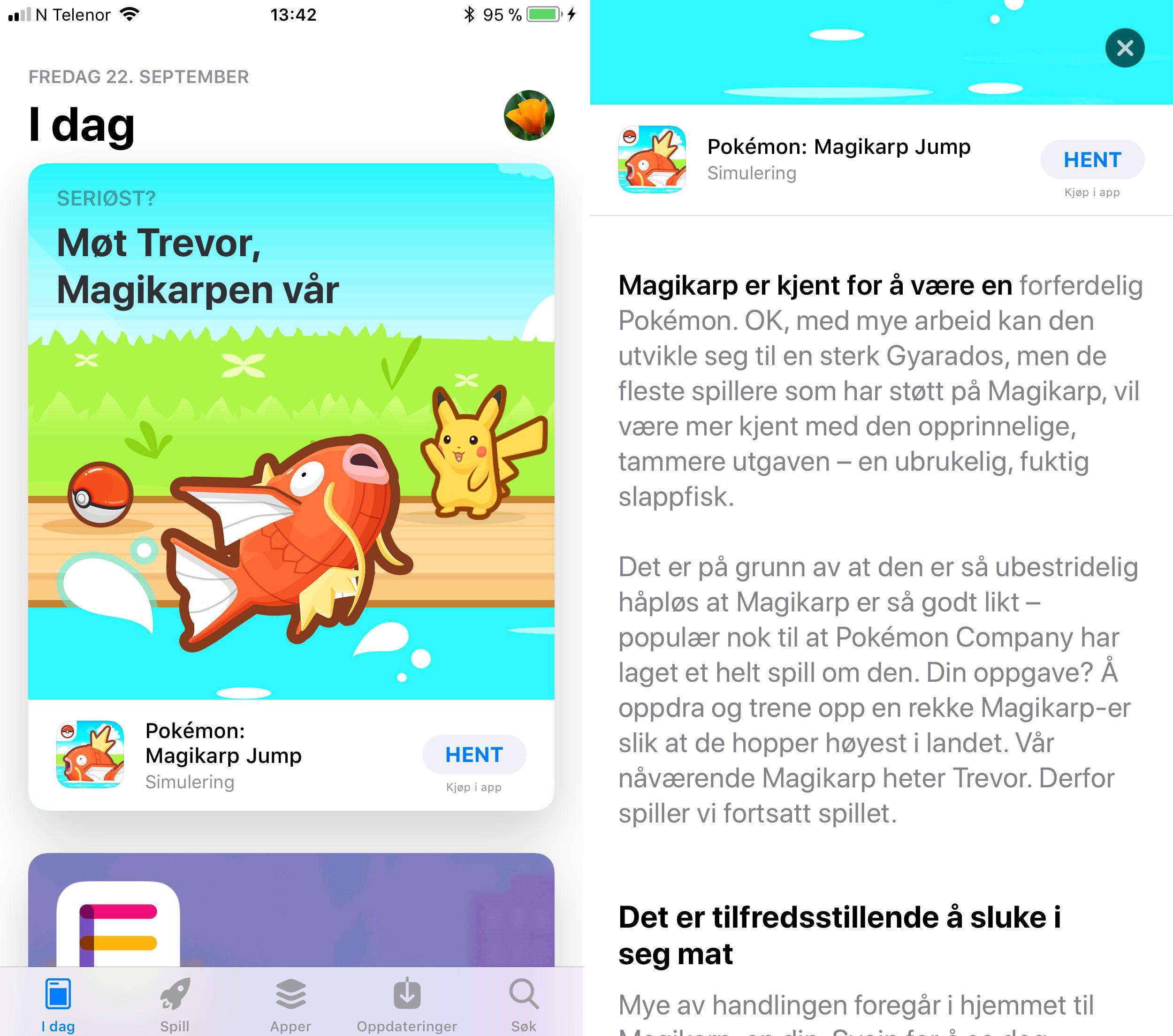 Nye App Store har blitt mer som et slags app-magasin der du får utførlige beskrivelser av store deler av innholdet. Du kan fortsatt søke direkte etter appen, eller gå via topplister.