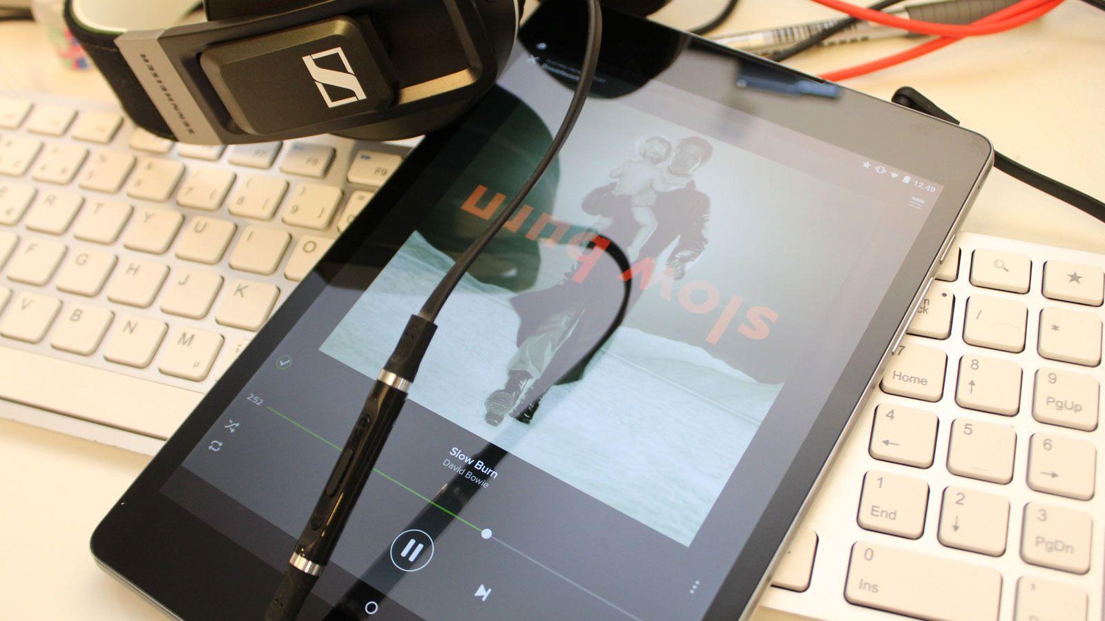 Ikke noe nettbrett leverer bedre musikkopplevelse enn HTC Nexus 9. .Foto: Espen Irwing Swang, Tek.no